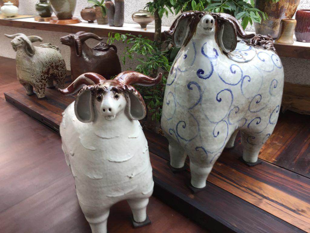 陶艺家庄金助的陶羊创作艺术之路充满惊奇